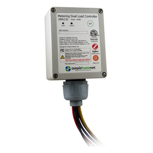 Home Automation Metering Wireless Dual Load Controller